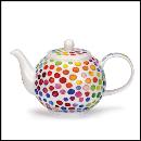 Designertassen - Dunoon - Fine Bone China Teapot  : Small Tea Pot, Hot Spots