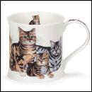 Designertassen - Dunoon - Fine Bone China  : Tasse, Wessex, Cats and Kittens