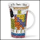 Designertassen - Dunoon - Fine Bone China  : Tasse, Glencoe Periodic Table
