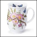 Designertassen - Dunoon - Fine Bone China  : Tasse, Suffolk Country Lane Dog Rose