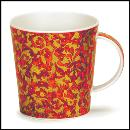 Designertassen - Dunoon - Fine Bone China  : Tasse, Lomond Mantua Red