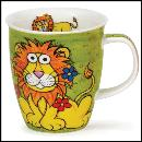 Designertassen - Dunoon - Fine Bone China  : Tasse, Nevis Munch Bunch Lion