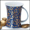 Designertassen - Dunoon - Fine Bone China  : Tasse, Richmond Mantua Dark Blue