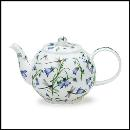 Designertassen - Dunoon - Fine Bone China Teapot  : Small Tea Pot, Dovedale Harebell