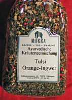 Ayurvedatee - Tulsi  : Orange-Ingwer, 100g